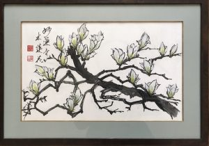 magnolia blossoms of Myorenji temple,Kyoto