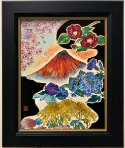 Japanese seasonal flowers