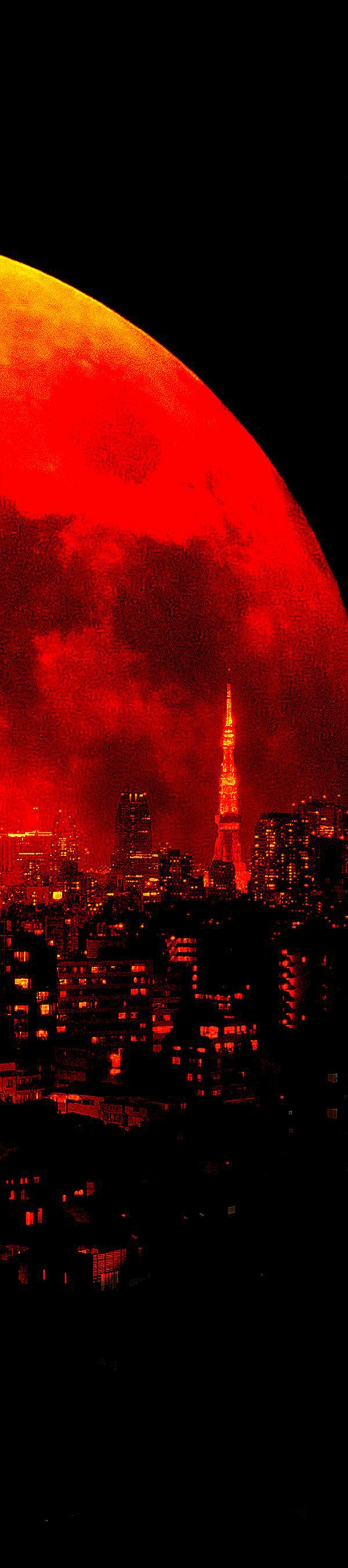 a liberateor who frees the BloodMoon x Tokyo-city