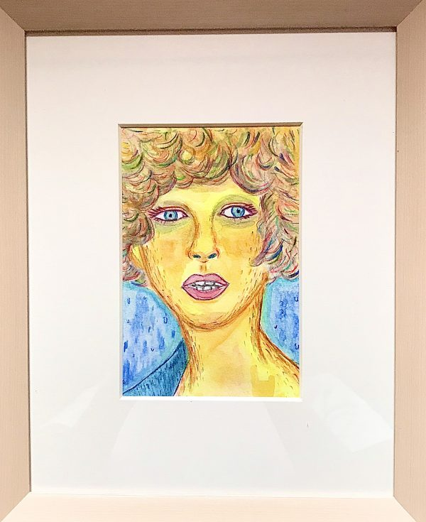 purple liner face