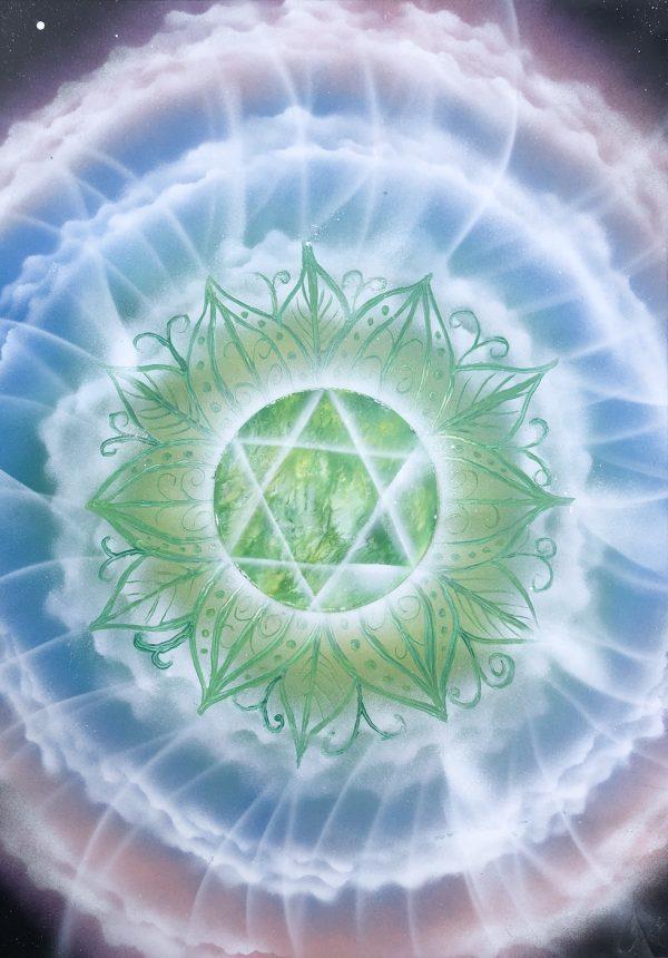 Airy heart chakra