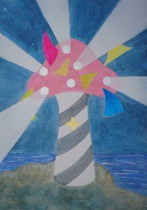 Lighthouse of Stardust mushroom