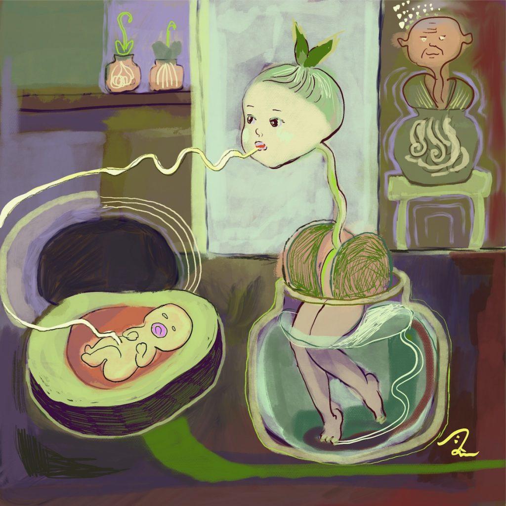 Avocado mom
