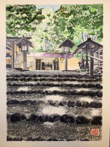 Akiba Shrine lower shrine