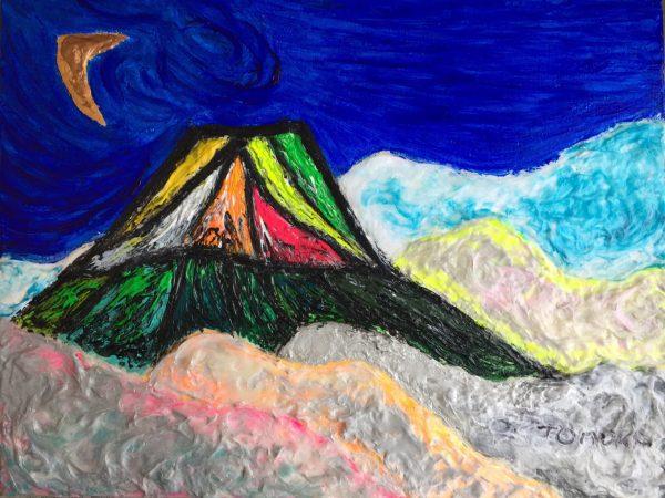 TOMOKA Solo Exhibition - Drawing acrylic paintings | Japanese art