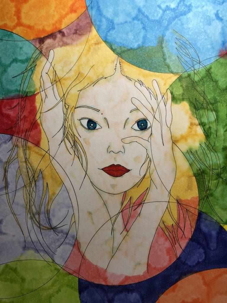 Takashi Tsujimoto | Drawing on paper | Abstract paintings