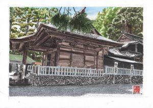 Yamazumi Shinto shrine