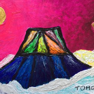 TOMOKA Solo Exhibition - Drawing acrylic paintings | Japanese art