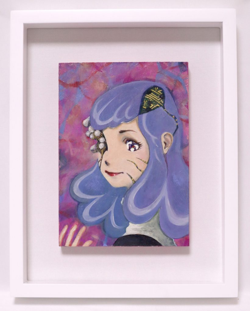Semiconductor Girl painting