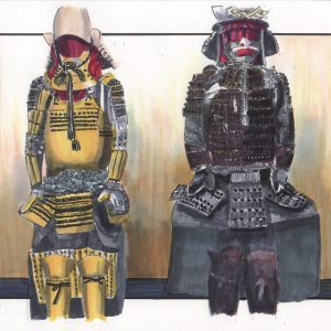 Two points of armor of Ieyasu Tokugawa