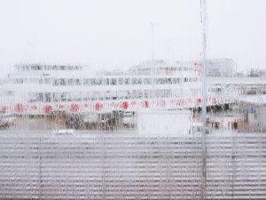 Rainy ship