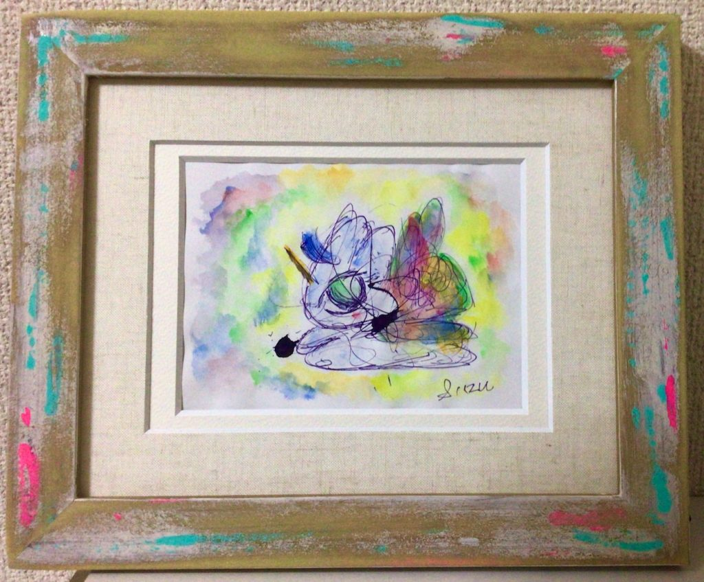 suzu - unicorn paintings