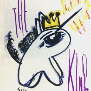 Unicorn painting by JCAt artist suzu