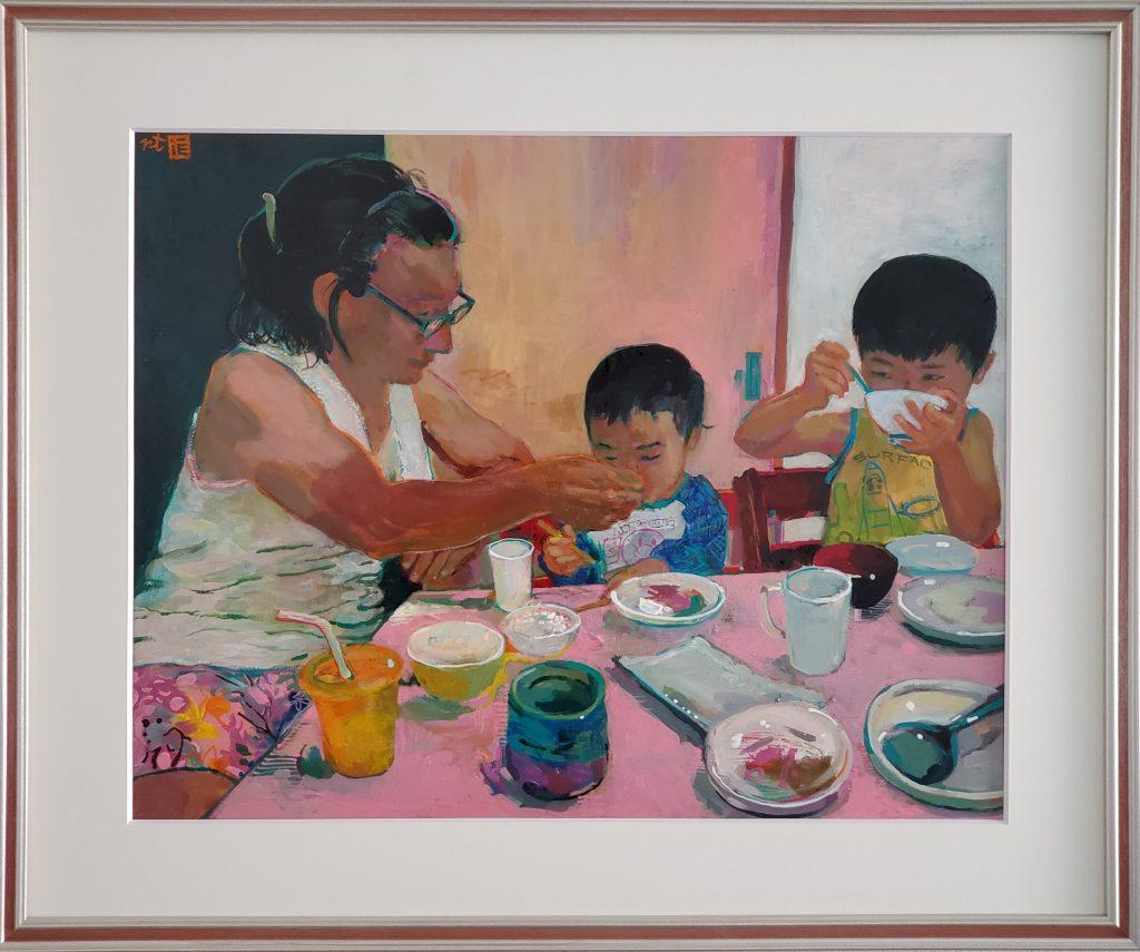 "Tadashi-NISHIMORI Solo Exhibit ""OUCHI JIKAN おうちじかん Relaxing at home"" at JCAT Online Gallery"