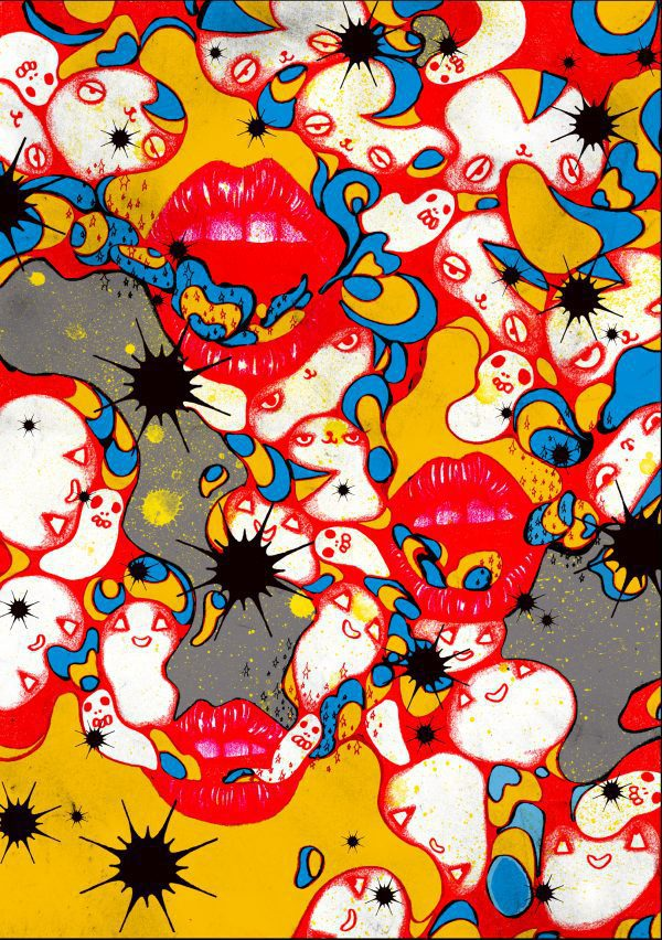 Yu-ji Kitagawa - printing, illustration - JCAT artist