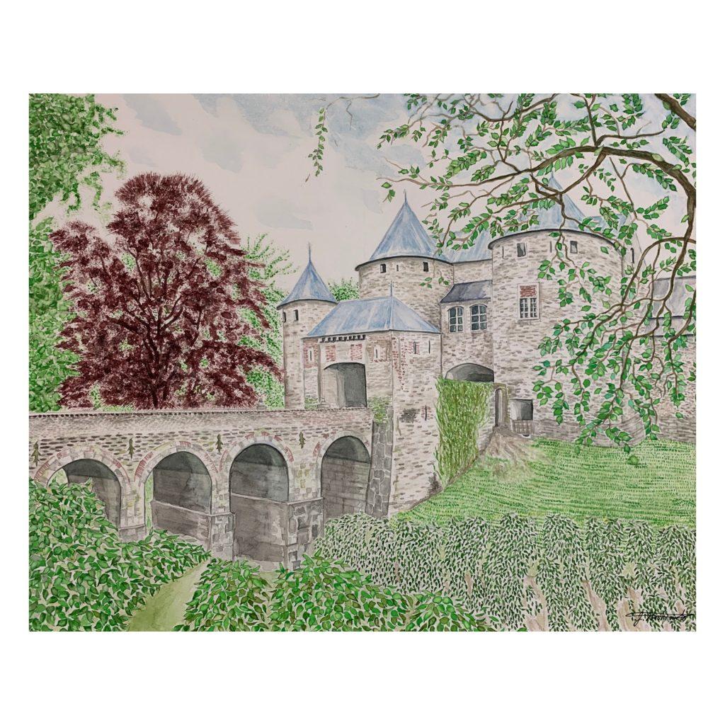 """Castle of Belgium - """"Harmonious"""" by Zenji"""