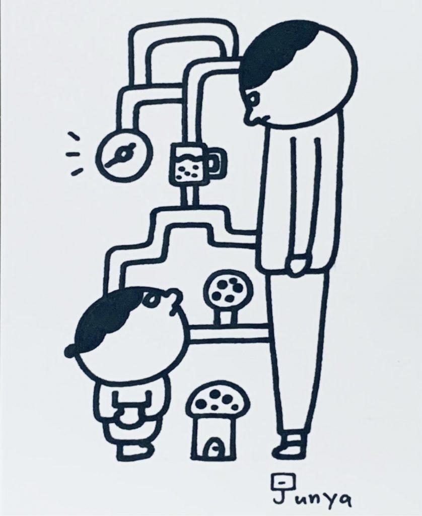 無表情絵描きストJUNYAの「空想世界展」Story.1 by JCAT artist Muhyojo Ekakist JUNYA. Online Solo Exhibition January - Online Exhibitions featuring original artwork and contemporary art on display at the JCAT Online Gallery
