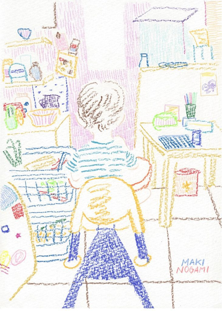 "Kitchen by Maki Nogami Solo Exhibition ""A day"""