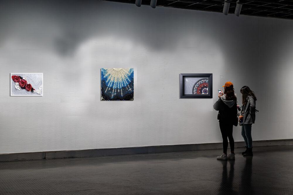 3D Embroidery Solo Exhibition by Etsuko Narita