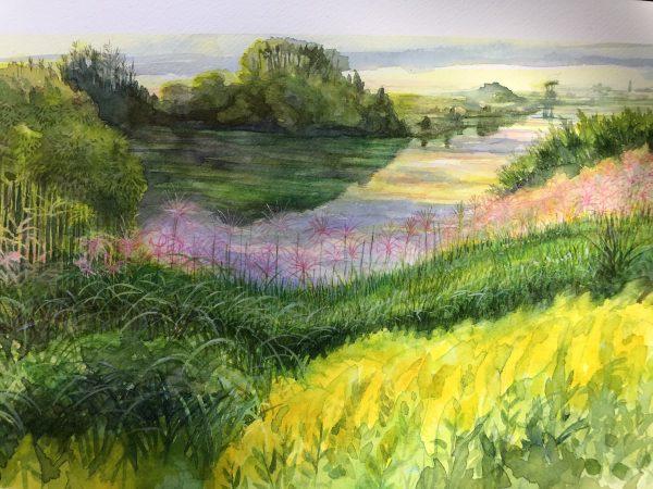 Hiroyuki - Watercolor painting