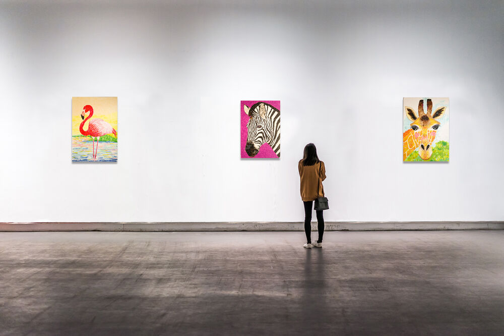 Online Solo Exhibition January - Online Exhibitions featuring original artwork and contemporary art on display at the JCAT Online Gallery