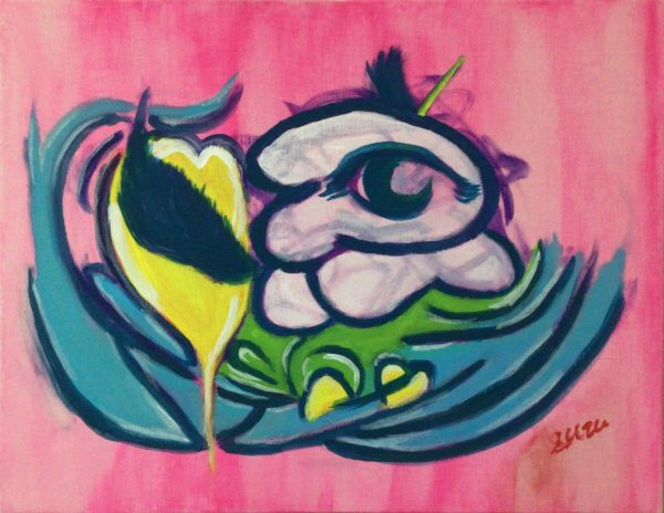 """""""Love and Dreams. And Playful"""" by suzu - Painter - JCAT artist"""