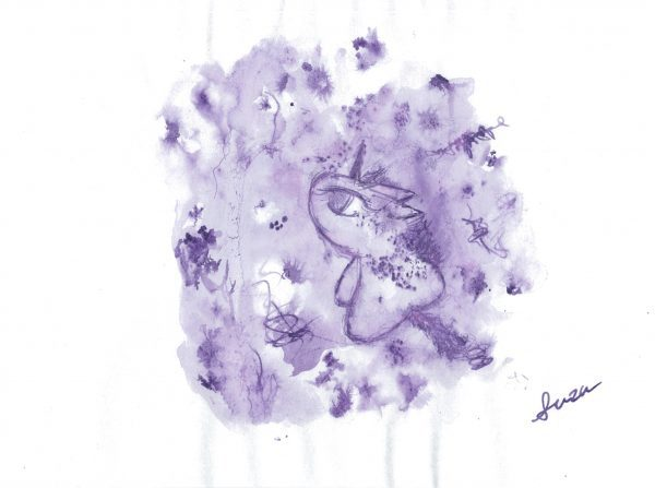 """""""Love and Dreams. And Playful"""" by suzu - Painter - JCAT artist Online Solo Exhibition February - Online Exhibitions featuring original artwork and contemporary art on display at the JCAT Online Gallery"""