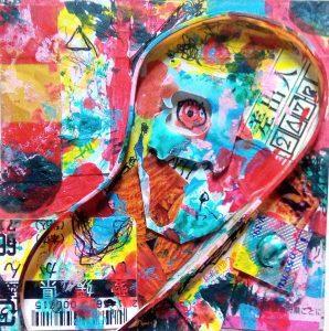 "Painter Mixed media HARUKI KAWAGUCHI Online Exhibition ""NO"" Art Sales Online Art Store"
