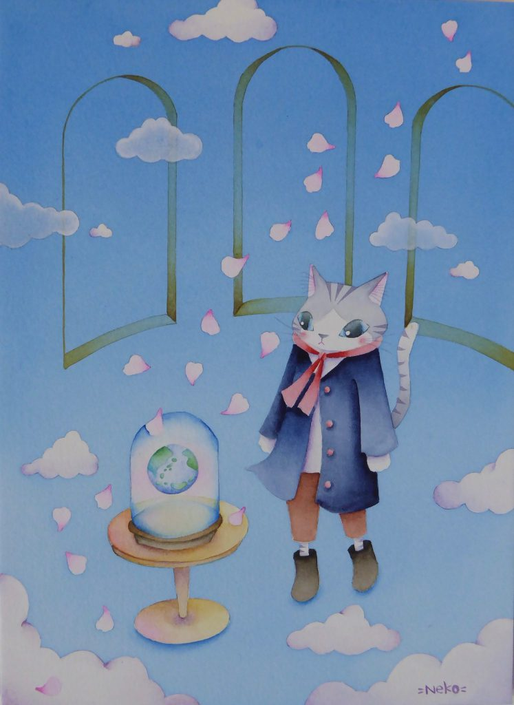SHIMADANEKO Online Solo Exhibition February - Online Exhibitions featuring original artwork and contemporary art on display at the JCAT Online Gallery