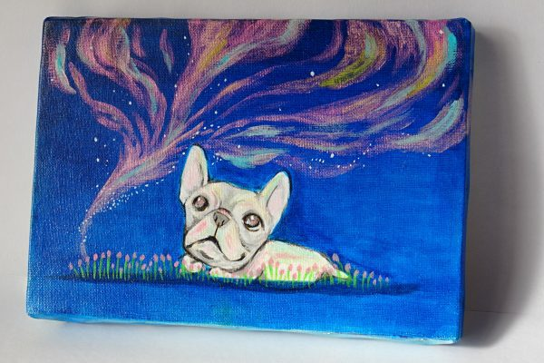 Happy Bulldog - Painter - JCAT artist