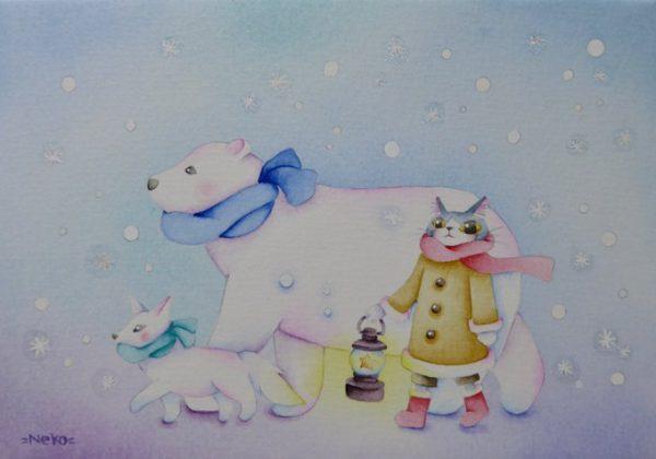 Warm winter day by SHIMADANEKO - Painter - JCAT artist
