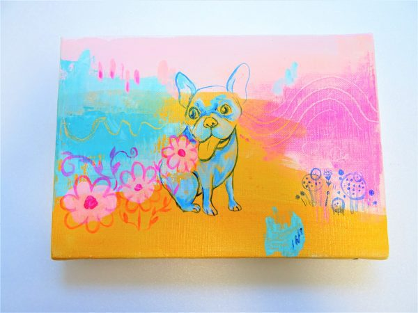 Happy Bulldog - Painter - JCAT artist