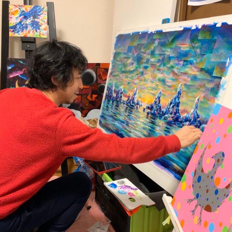 Shingo Terasawa - Painter - JCAT artist