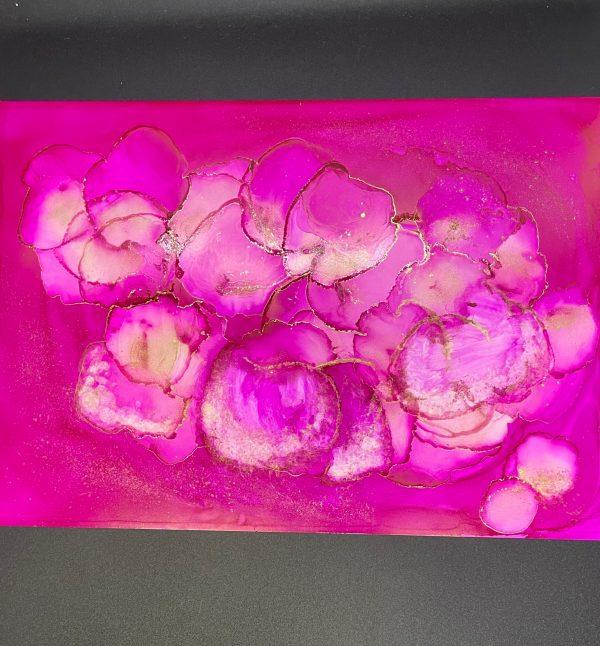 """Painter itsu Online Exhibition """"Flower"""" Art Sales Online Art Store"""