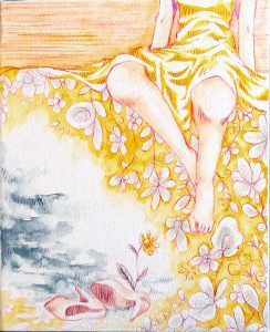 "Painter ke-ko Online Exhibition ""Flower"" Art Sales Online Art Store"