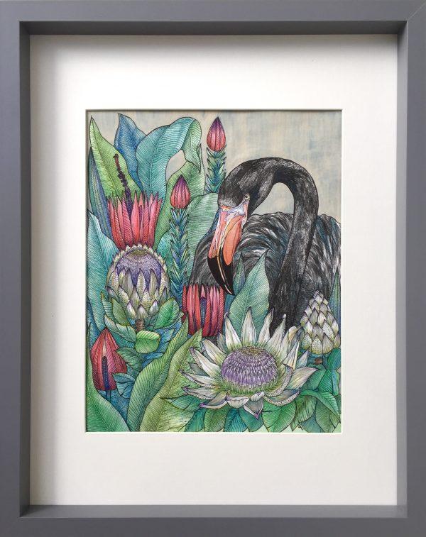 "Painter Sayuri Nagakura Online Exhibition ""Flower"" Art Sales Online Art Store"