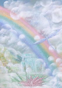 "Painter Asuka.Ripple Online Exhibition ""Flower"" Art Sales Online Art Store"