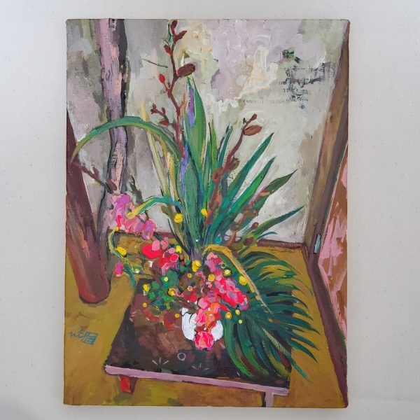 "Painter Tadashi NISHIMORI Online Exhibition ""Flower"" Art Sales Online Art Store"