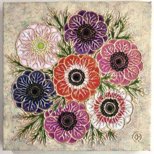 "yushi sato Online Exhibition ""Flower"" Art Sales Online Art Store"