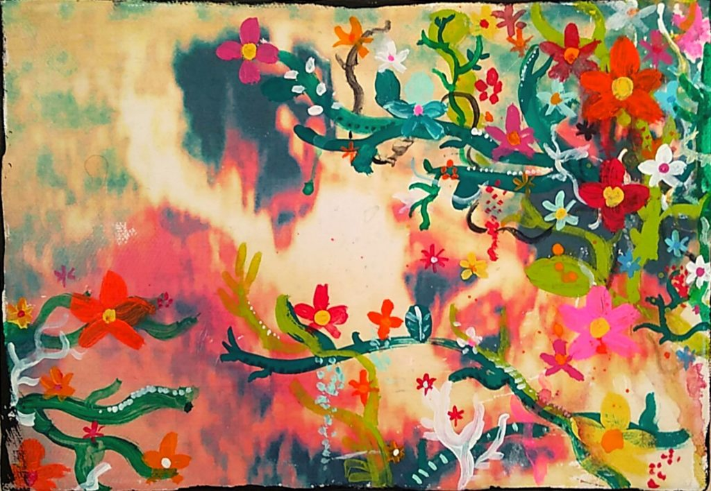 "Painter Atsuo Yokoyama Online Exhibition ""Flower"" Art Sales Online Art Store"