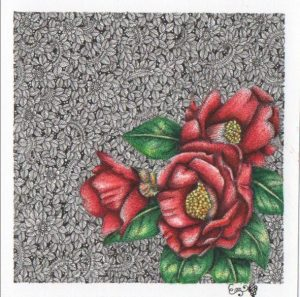 "Painter Emi Matsumura Online Exhibition ""Flower"" Art Sales Online Art Store"