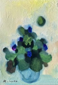 "Painter Rmoo Online Exhibition ""Flower"" Art Sales Online Art Store"