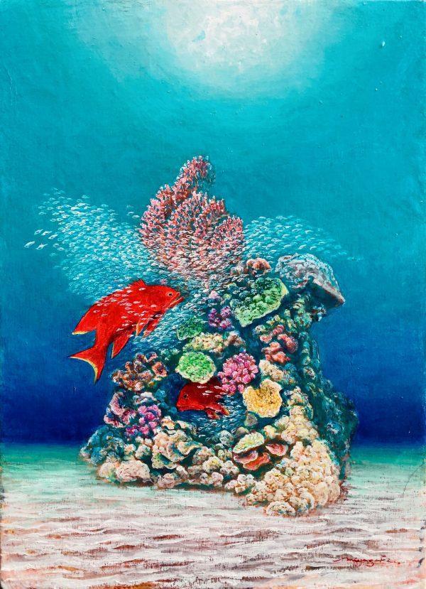 """Painter Miyazaki Suji Online Exhibition """"Flower"""" Art Sales Online Art Store"""