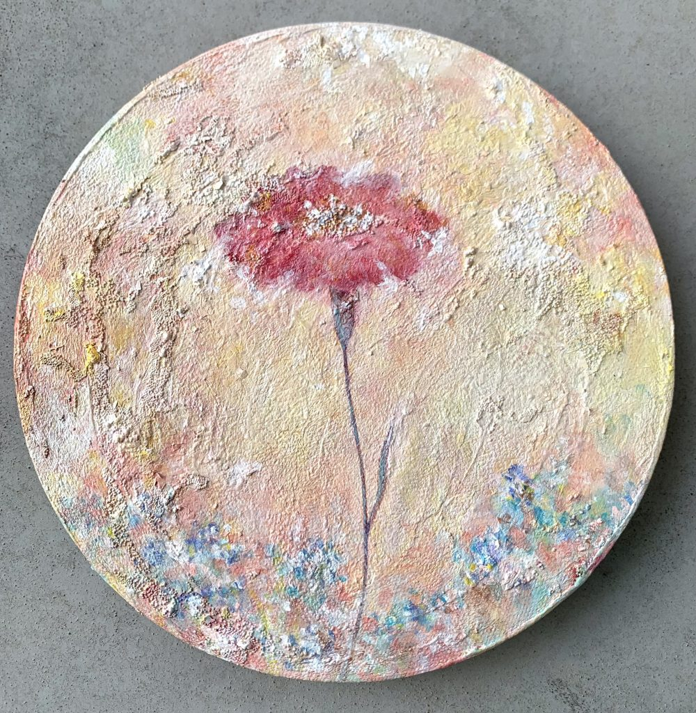 "Painter Aki Takahashi Online Exhibition ""Flower"" Art Sales Online Art Store"