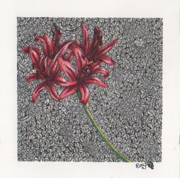 "Painter Emi Matsumura Online Exhibition ""Flower"" Art Sales Online Art Store"
