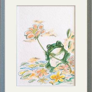 "Illustrator ke-ko Online Exhibition ""Flower"" Art Sales Online Art Store"