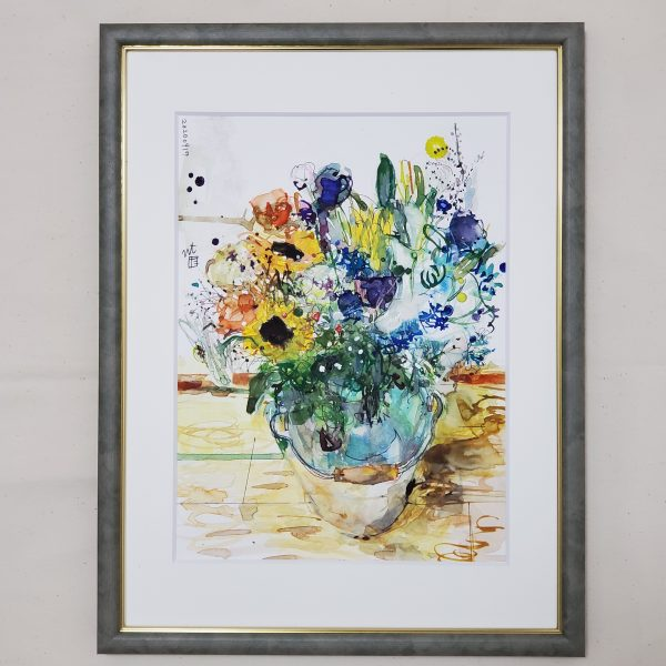 "Painter Tadashi NISHIMORI Online Exhibition ""Flower"" Art Sales Online Art Store"