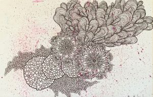 Kyoko Sekine - Drawing - JCAT artist