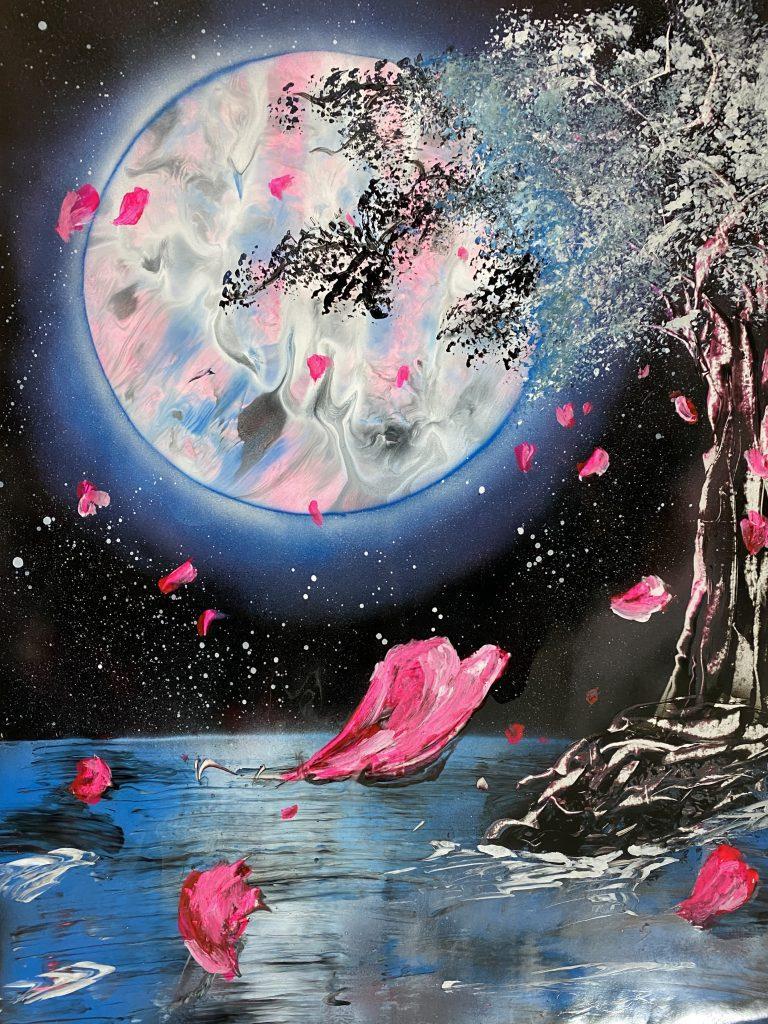 T.K art - Spray Paint - JCAT artist