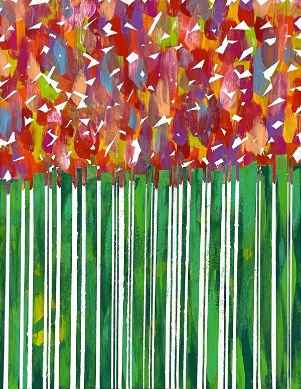 """Painter Kenichi Sugimoto Online Exhibition """"Flower"""" Art Sales Online Art Store"""
